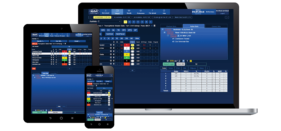 Amwager Racebook Online Mobile Betting