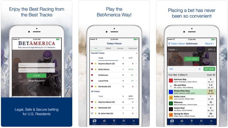 Mobile BetAmerica Online Racebook