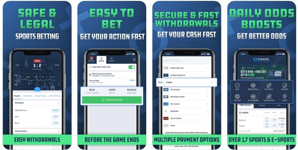 FanDuel DFS Betting Online for Real Money