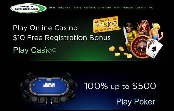 Harrington Online Casino