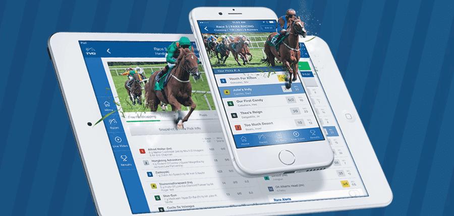 TVG Online Racebook Mobile